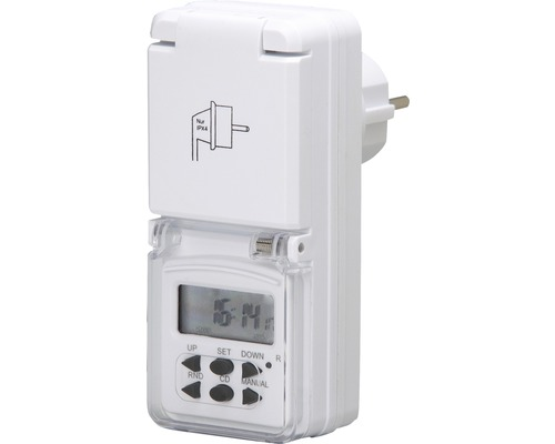 Digital veckotimer Mini IP44