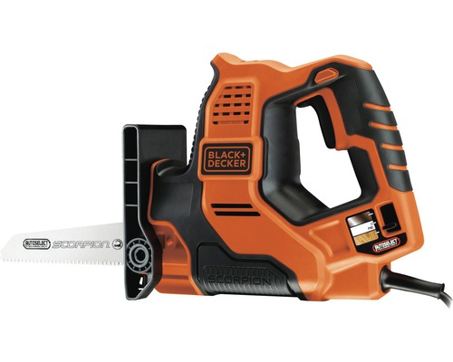 BLACK+DECKER Elhandsåg Scorpion Select RS890K, 500 W