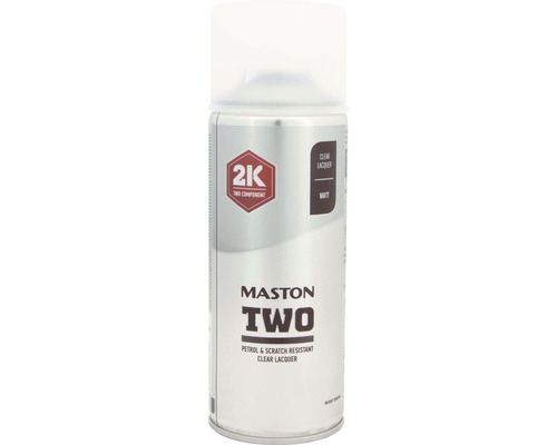 Fantastisk MASTON OY TWO 2K Klar blank spray 400ml - köp på HORNBACH.se TJ-69