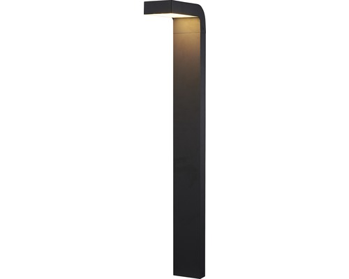 FLAIR LED pollare Taygeta II svart, 370 lm 3000 K varmvit IP54, höjd 500 mm