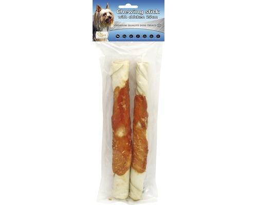 CHEWING STICK with chicken 25cm 200gr