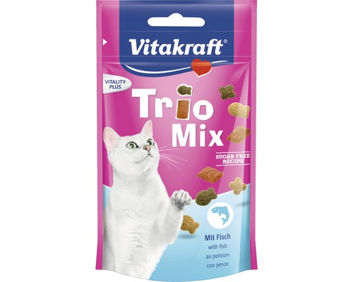 VITAKRAFT Trio mix fisk 50g