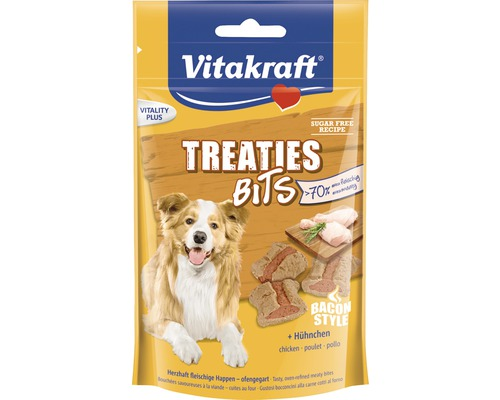Hundgodis VITAKRAFT Treaties Bits fågel 120g