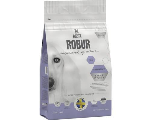 ROBUR Sensitive Single Protein Lamb 3kg