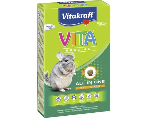 VITAKRAFT Special Regular Chinchilla 600g