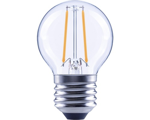FLAIR LED dropplampa E27 2,2W G45 filament klar 250 lm 2700 K varmvit