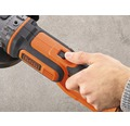 BLACK+DECKER Vinkelslip 18V 125mm utan batteri