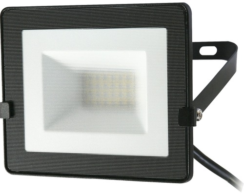 LED-strålkastare IP65 20W 1600lm 4000K neutralvit 120x150mm Floodlight svart
