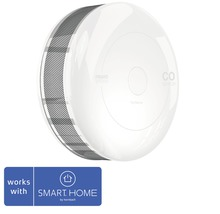 Fibaro CO-varnare FIBEFGCD-001 SMART HOME by hornbach vit Ø 65 h 28 mm med temperatursensor