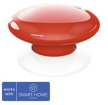 Fibaro Smart Button röd SMART HOME by hornbach