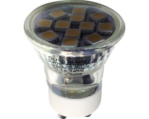 MARKSLÖJD LED-lampa Mini 1,8W 3000K 35mm GU10
