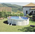 Ovanmarkspool Vision Classic solo oval 500x300x120cm