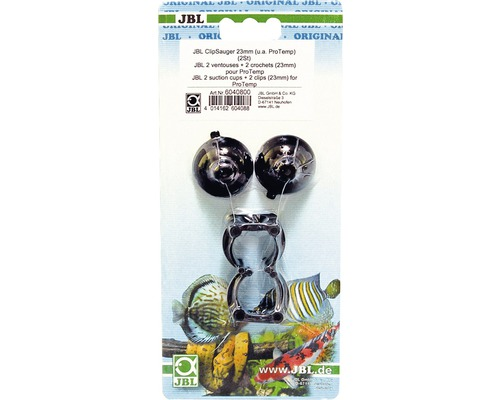 JBL Sugkopp m clips 23-28mm 2st