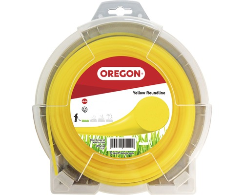 Trimmertråd OREGON Yellow Roundline 2,7mm 70m