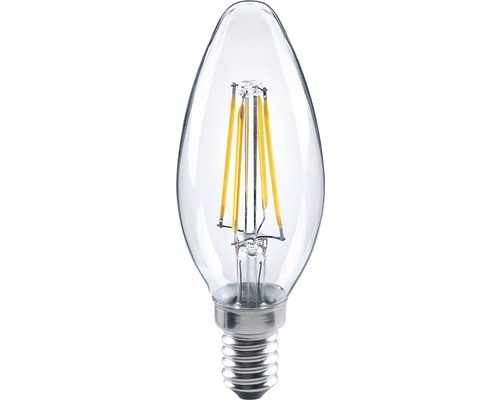 FLAIR LED filament kronljus klar, E14/4W(34W) 350 lm 2700 K varmvit