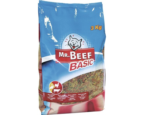 Kattmat MR. BEEF Cat Mix Basic 3kg