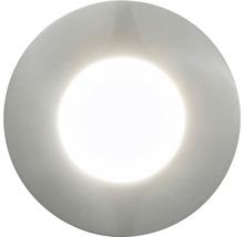 EGLO LED-downlight Margo stål, IP65, 5 W, inkl ljuskälla