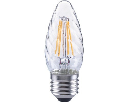 FLAIR LED kronljus CT 35 vriden Filament klar E27/4W(40W) 470 lm 2700 K varmvit