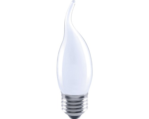 FLAIR LED kronljus CL35 böjd Filament matt E27/2W(20W) 220 lm 2700 K varmvit
