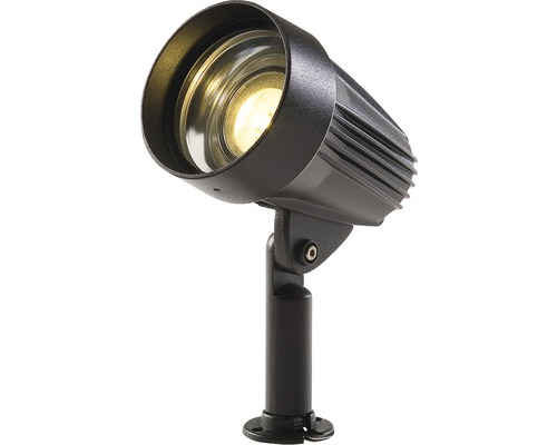 TECHMAR LED-spotlight Ancona GU5.3/5W svart Season Lights